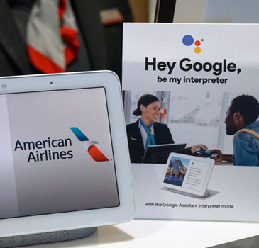 American Airlines tests Google's interpreter