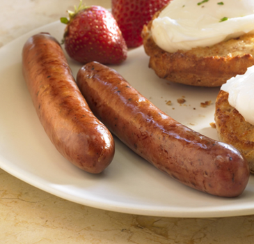 Aidell's flavoured breakfast sausage