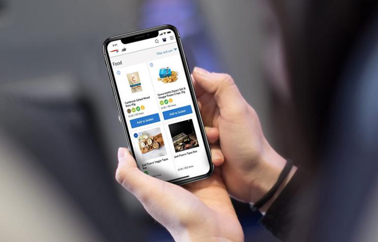British Airways launches inflight digital ordering platform
