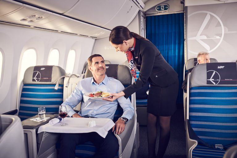 Training for quality service | LOT Polish Airlines
