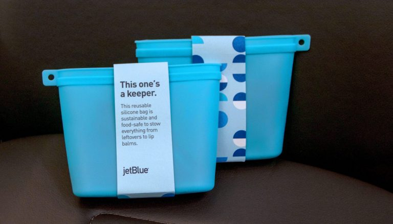 JetBlue launches reusable amenity kits with added functionality