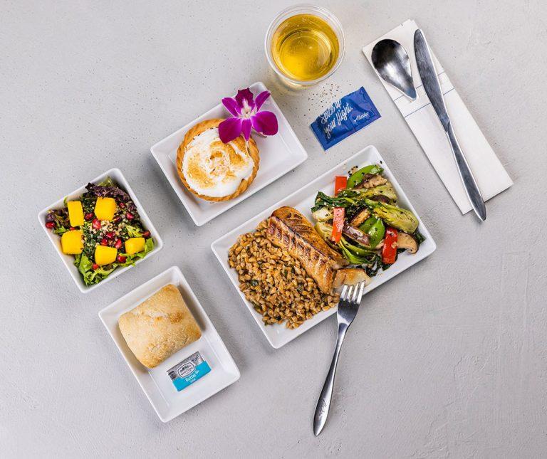 Alaska Airlines expands food and beverage service