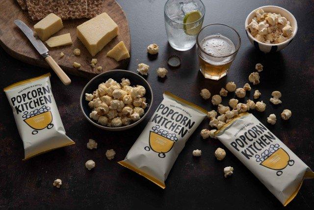 Popcorn with a cheesy twist