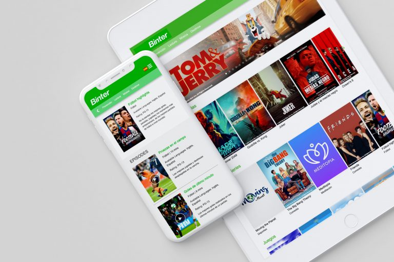 Binter selects QuiverTree Media as its onboard content provider