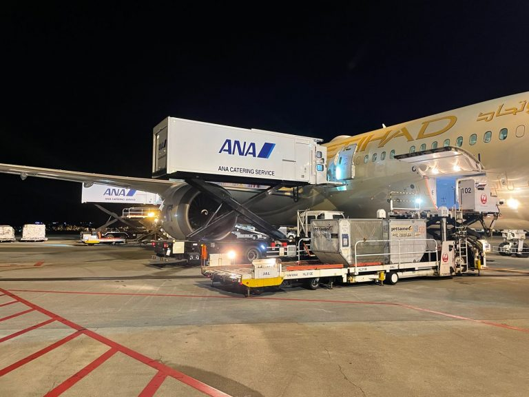 ANA Catering Service partners with Etihad Airways